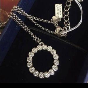 Kate Spade Silver & CZ Necklace